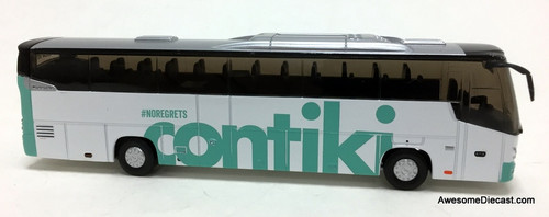 HollandOto 1:87 VDL Futura Coach: Contiki Tours: Teal