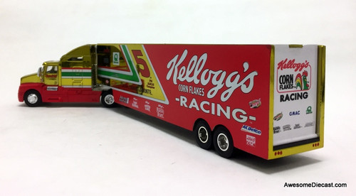 Racing Champions 1:64 NASCAR Peterbilt w/Car Transporter Trailer: Kelloggs, Terry Labonte
