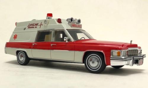 Neo 1:43 1977 Cadillac Superior Ambulance: LifeLine Ambulance Inc.