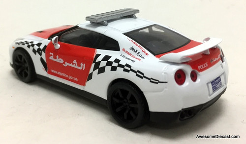 RARE!! DeAgostini 1:43 Nissan GT-R: United Arab Emirates Police Department