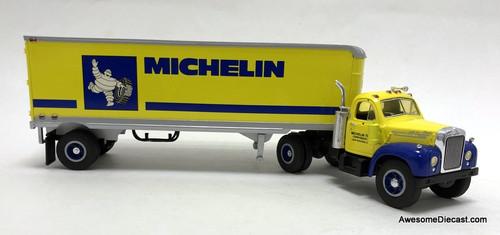 First Gear 1:34 1960 Mack B-61 Tractor w/Trailer: Michelin Tire