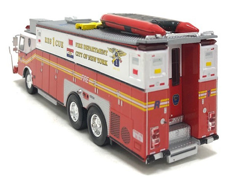 Code 3 Reproductions 1:64 E-One Heavy Rescue: FDNY Rescue 1