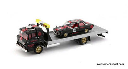 M2 Machines 1:64 1957 Mack Model N & 1970 Datsun 510