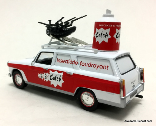 DeAgostini 1:43 Peugeot 404 Break: Catch Spray Bug Repellent, Promotion Vehicle