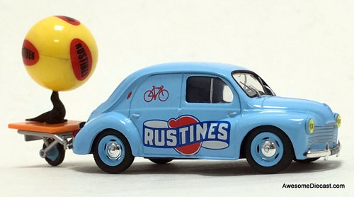 Eligor 1951 Renault 4CV TDF: Rustines Promotion Vehicle