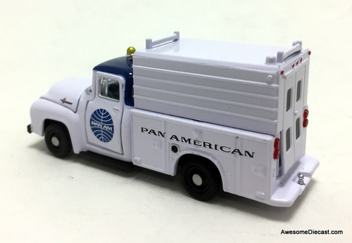M2 Machines 1:64 1956 Ford F-100: Pan Am Airlines Service Truck