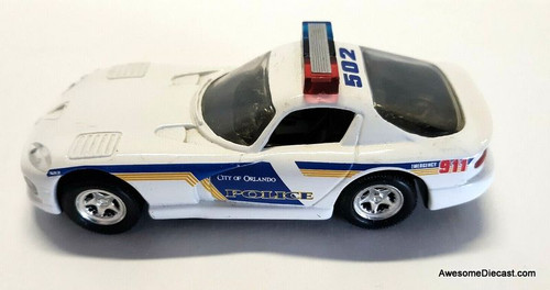 RARE!!! Road Champs 1:43 1996 Dodge Viper: Orlando Police Department