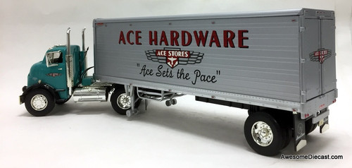 RARE!! Ertl 1:25 1954 GMC Series 950 Tractor w/30' Great Dane Trailer: Ace Hardware