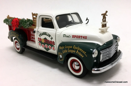 Franklin Mint 1:24 1950 GMC Pick Up: Limited Edition Christmas Collectible