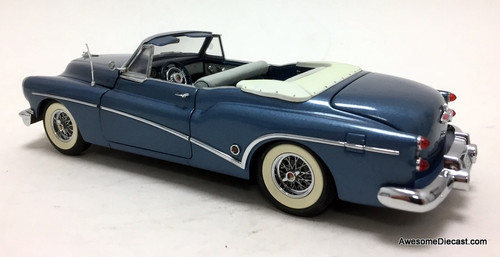 Danbury Mint 1:24 1953 Buick Skylark Convertible, Metallic Blue