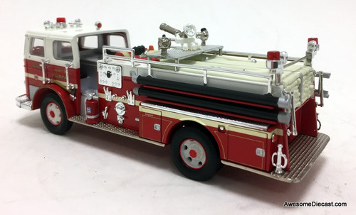 Corgi 1:50 Seagrave K Fire Truck: Faifax County, Virginia