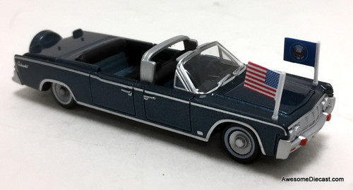 Oxford 1:87 1961 Lincoln Continental  X-100 Presidential Car