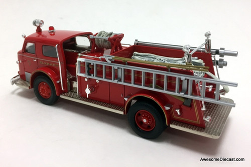 Corgi 1:50 American LaFrance 700 Pumper: Elkhart, Indiana Fire Department