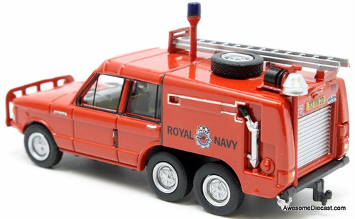 Oxford 1:76 Range Rover TACR2 Royal Navy Yeovilton Fire Service