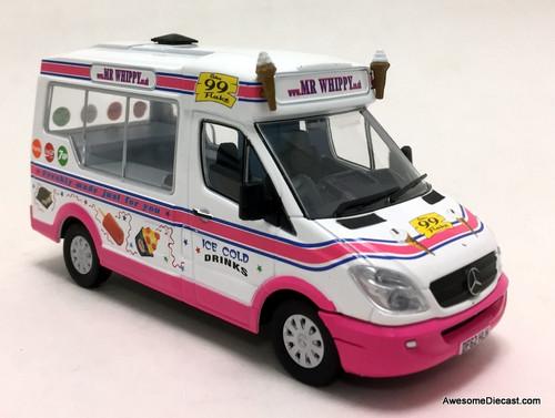 Oxford 1:43 2012 Whitby Mondial- Mercedes Benz Ice Cream Van: Mr Whippy