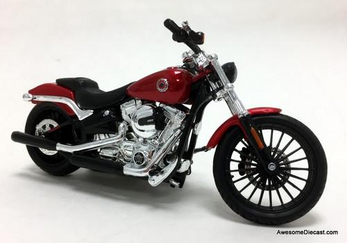 Maisto 1:18 2016 Harley Davidson Breakout, Metallic Red