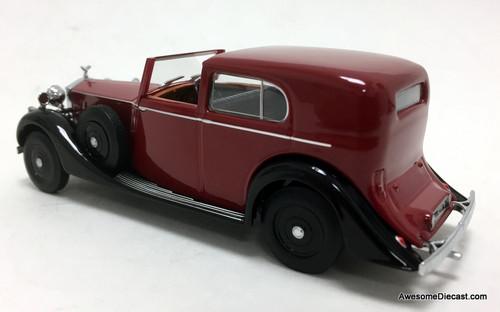 Oxford 1:43 Rolls Royce Phantom 111 Sedanca De Ville Mulliner Park Ward RHD