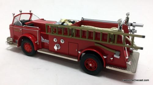Corgi 1:50 American La France 700 Open Cab: Washington DC Fire Department