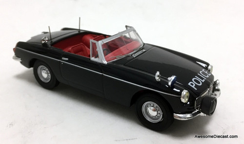 Atlas 1:43 1964 MGB Convertible: Lancashire Police Force