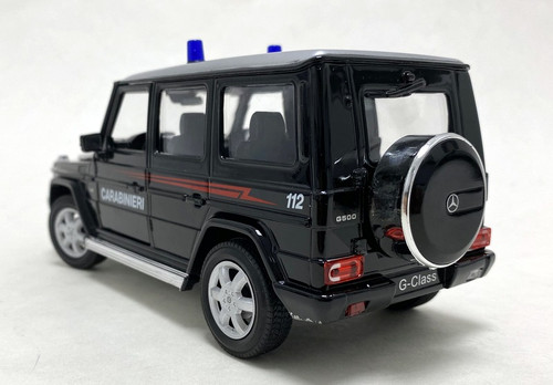 Welly 1:24 2009 Mercedes-Benz G-Class: Rome, Italy Police Car