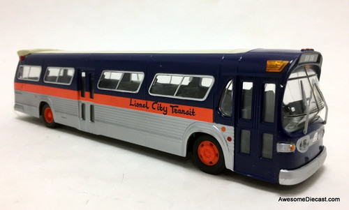 Corgi 1:50 GM 5301 Fishbowl, Lionel City Transit Bus Lines: Destination New York