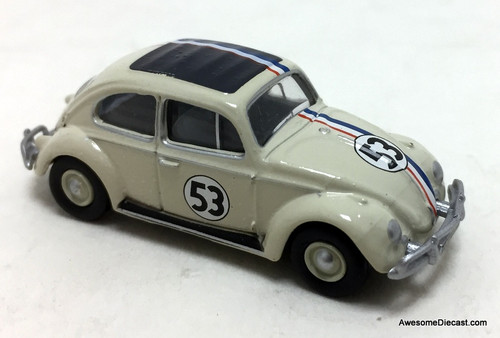 Oxford 1:76 Volkswagen Beetle, White: #53