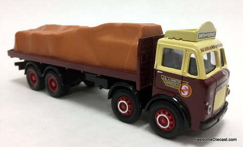 Corgi 1:50  Leyland 8 Wheeled Rigid Truck  w/Covered Load: J & A Smith Of Maddiston