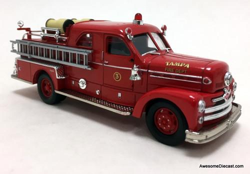 Corgi 1:50 Seagrave Anniversary Pumper: Tampa, Florida Fire Department