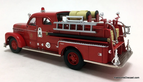 Corgi 1:50 Seagrave Anniversary Pumper: Tampa, Florida Fire Department