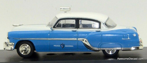 Police Cars of the World 1:43 1954 Pontiac Chieftain: Cuban National Police
