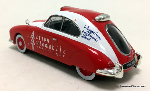 DeAgostini 1:43 1949 Delahay 135 Beaublat: Tourist Attraction Car