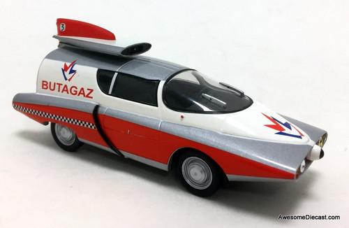 DeAgostini 1:43 Renault Floride: Butagaz Tour de France Promo Rocket Car