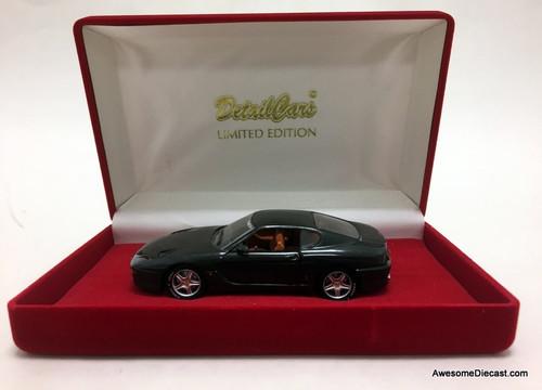 Corgi Detail Cars 1:43 Ferrari 456 GT, Metallic Gray