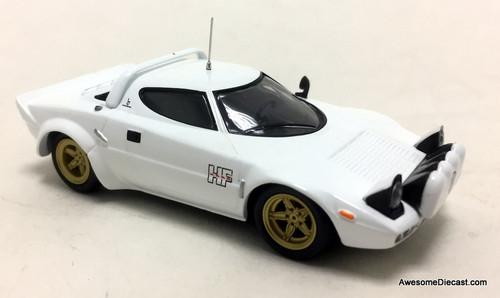 Bel Tempo 1:43 1975 Lancia Stratos HF Stradale Rally Car, White