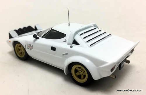 Bel Tempo 1:43 1975 Lancia Stratos HF Stradale Rally Car, White