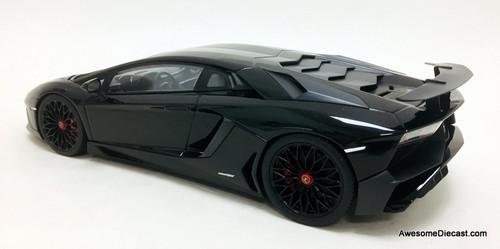 Kyosho 1:18 2016 Lamborghini Aventador LP 750-4 Superveloce, Black