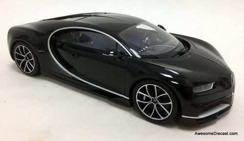 Kyosho 1:18 2016 Bugatti Chiron, Black