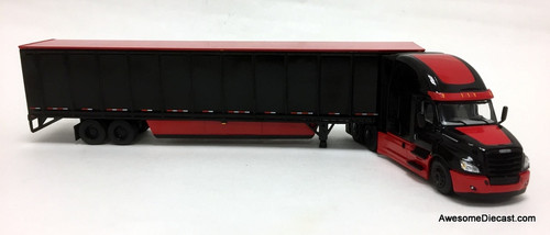 DCP by FG 1:64 Freightliner Cascadia High-Roof Sleeper w/ 53' Wabash DuraPlate Skirted Trailer