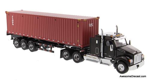 Diecast Masters 1:50 Kenworth T880 SFFA w/ Tri-Axle Trailer w/40' Container