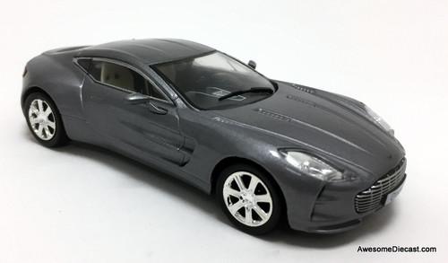 IXO 1:43 2009 Aston Martin One-77, Metallic Gray