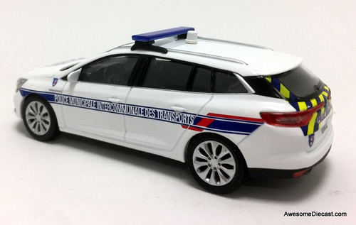 Norev 1:43 2016 Renault Megane Wagon: French DOT / Highway Police