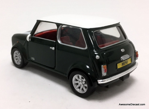 Corgi 1:36 Mini '40th Anniversary', British racing Green: John Cooper Works