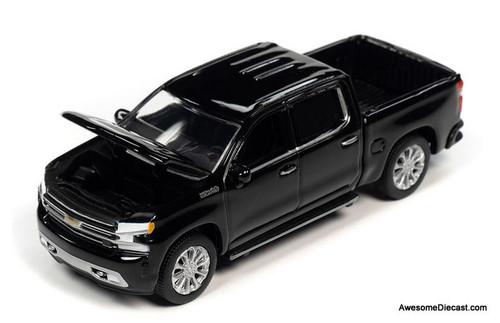 Autoworld 1:64 2019 Chevrolet Silverado High Country, Gloss Black