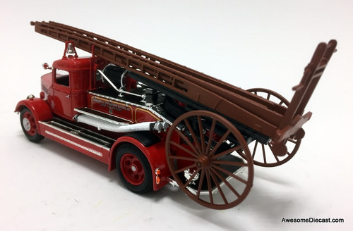 Road Signature 1:43 1938 Dennis Light Four: Oakham & Uppingham Fire Brigade