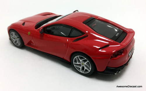 IXO 1:43 2017 Ferrari 812 Superfast, Red