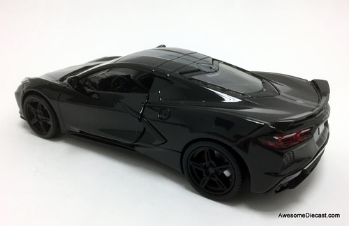 Motor Max 1:24 2020 Chevrolet Corvette, Black