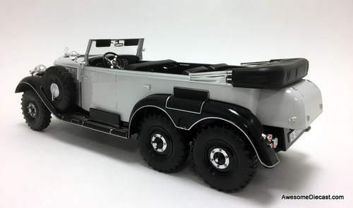 MCG 1:18 1938 Mercedes Benz G4 (W31), Black/Gray