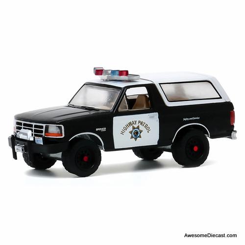 Greenlight 1:64 1993 Ford Bronco: California Highway Patrol