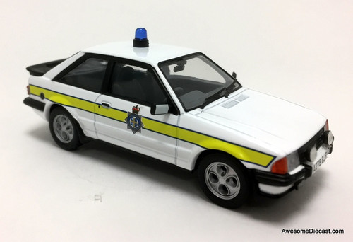 Vanguards 1:43 1984 Ford Escort MK3, XR3i: Durham Constabulary