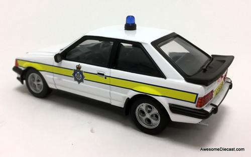 Vanguards 1:43 1984 Ford Escort MK3, XR3i: Durham Constabulary